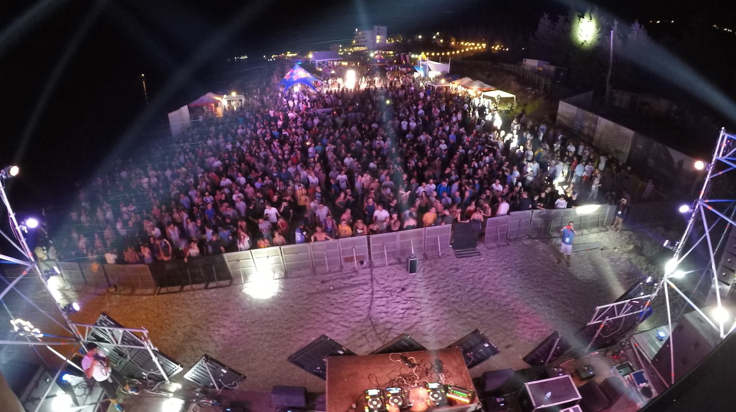 Turtle Fest, the largest electronic music festival in the country
