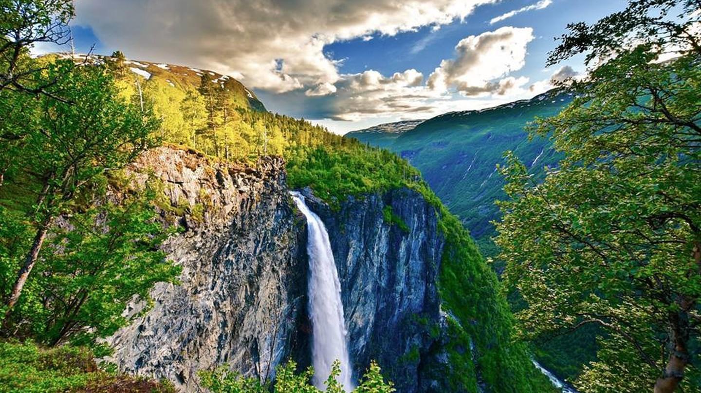 Vettisfossen waterfall