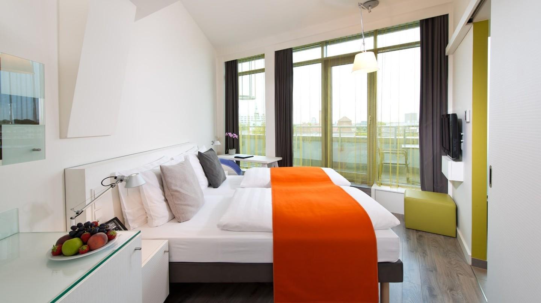 Comfy hotel room