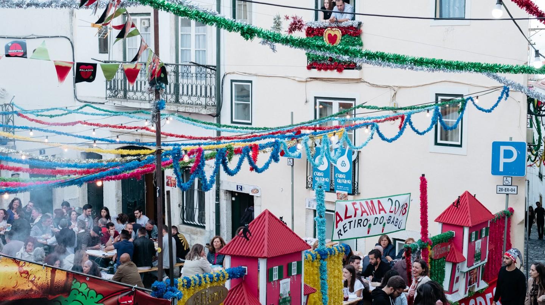 Santo Antonio Festival in Lisbon, Portugal