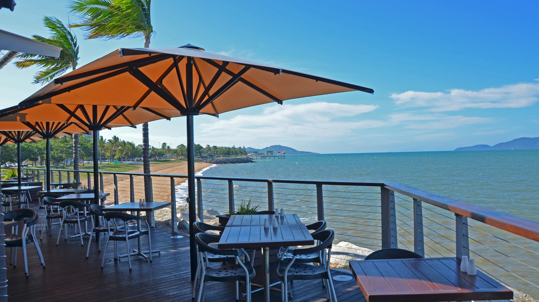 Sea views at the Cbar