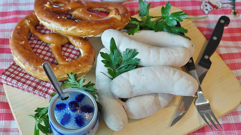 Weißwurst sausages