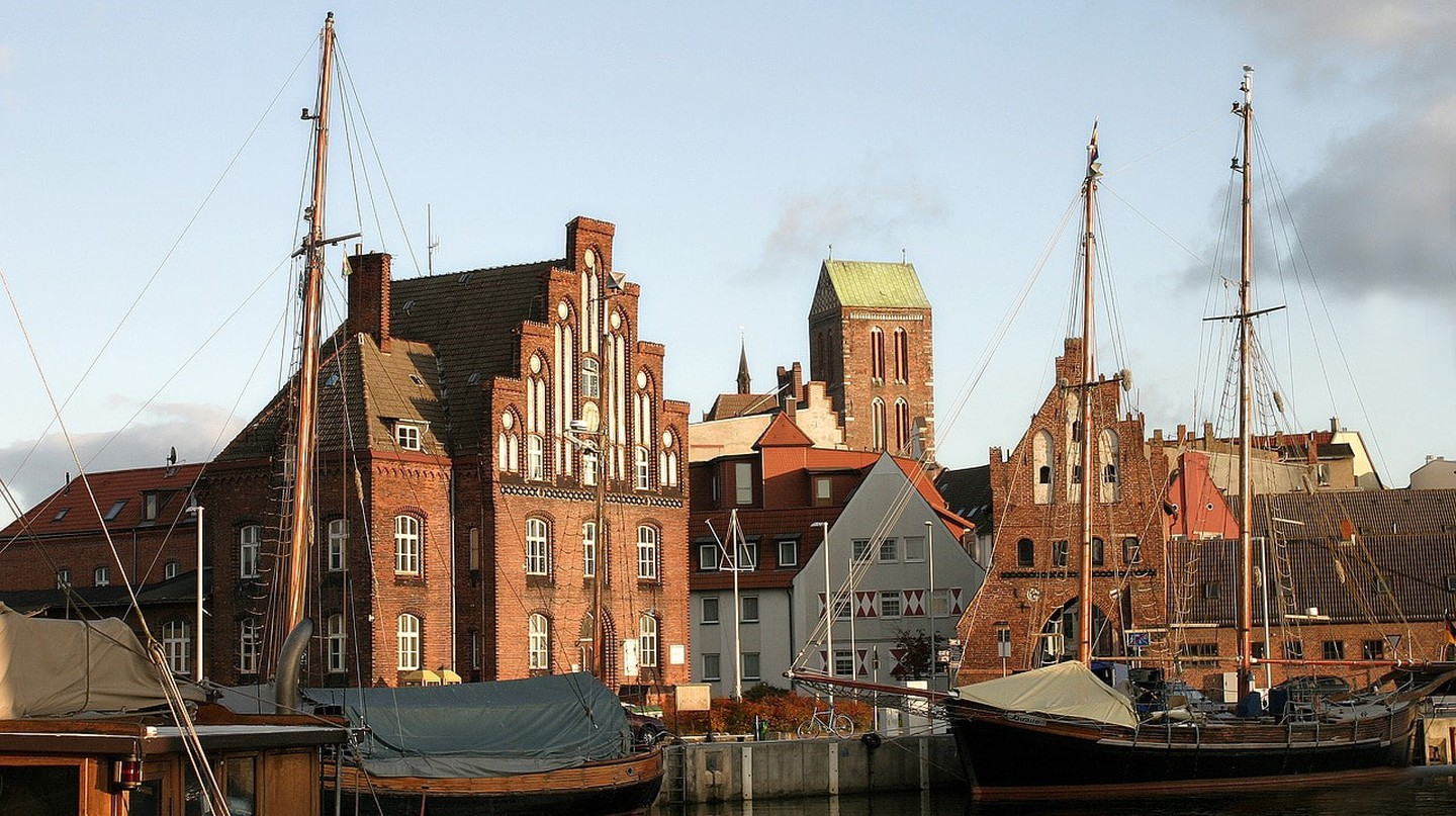Wismar old harbour