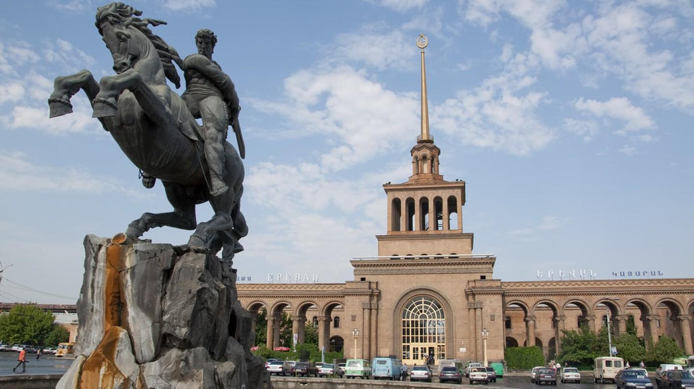 Yerevan train station
