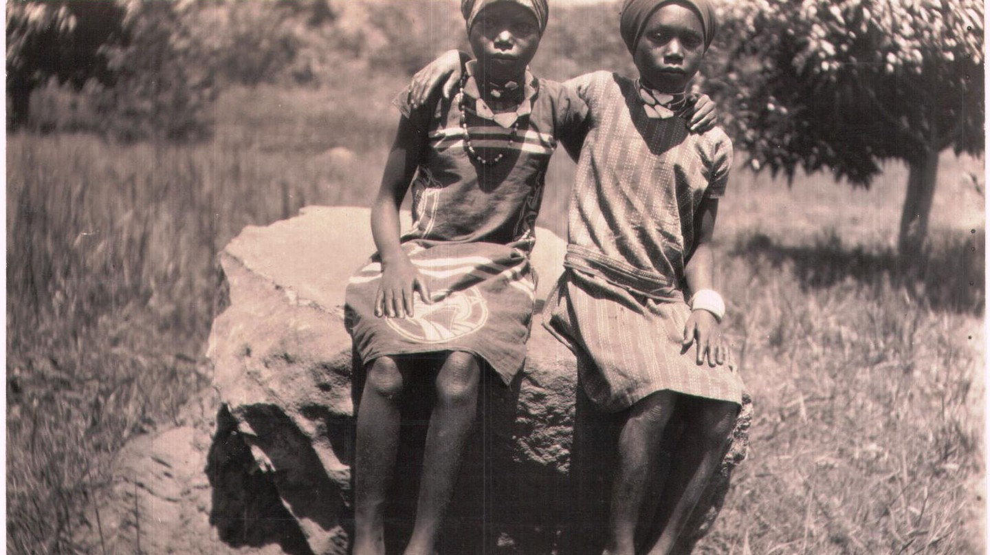 Young Bemba girls in 1932