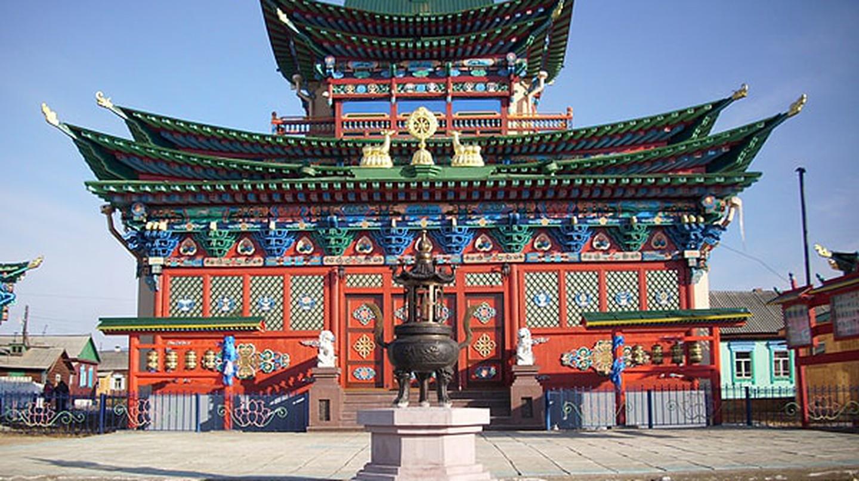Ivolginsky Monastery – the Lama's resting place