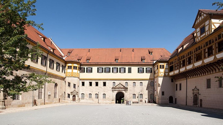 Inside Hohentübingen Castle