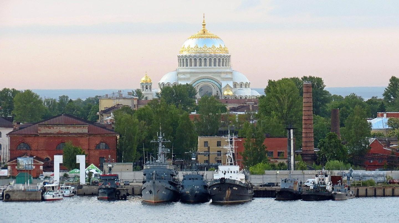 Kronstadt shipyard