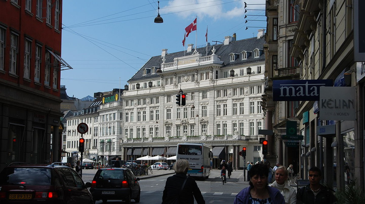 Hotel d'Angleterre has been standing in the same place for 250 years