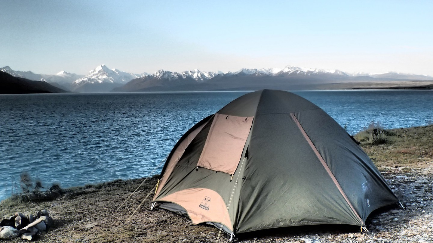 South Island camping trip with Flying Kiwi Tours
