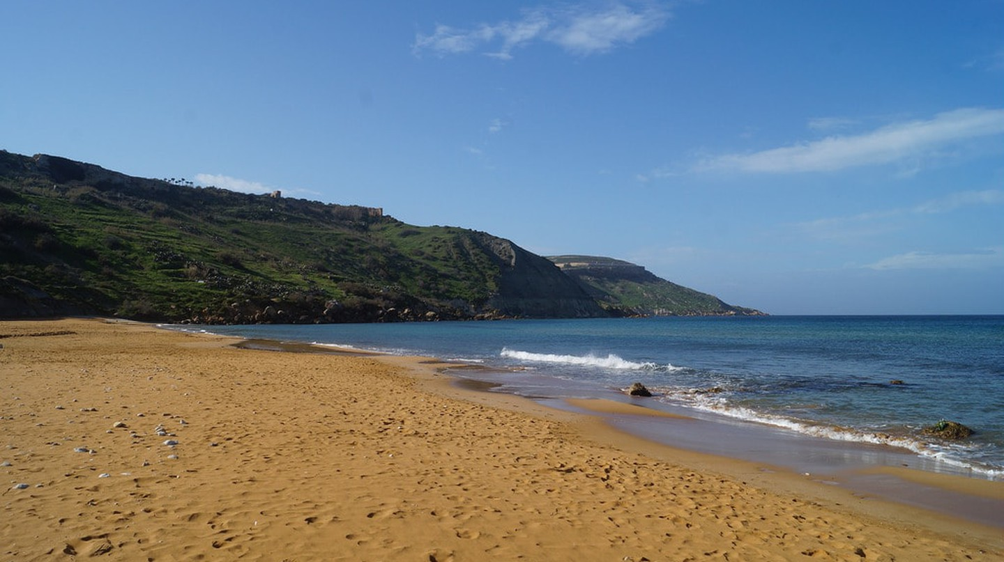 One of Malta's Secret Beaches