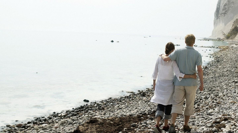 Møns Klint beach is the perfect romantic getaway