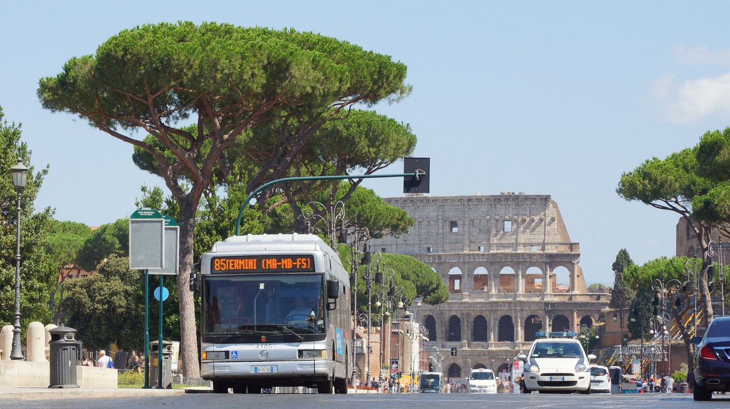Public transport in Rome