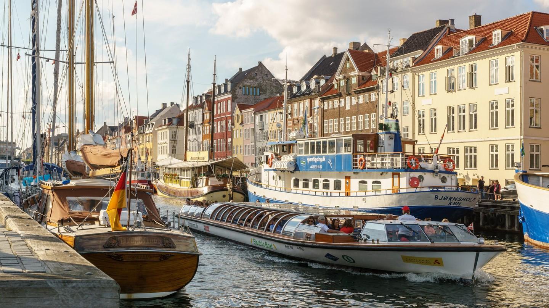 Boat Tour in Nyhavn, Copenhagen
