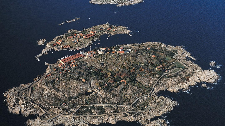 Christiansø og Frederiksø islands in Baltic Sea