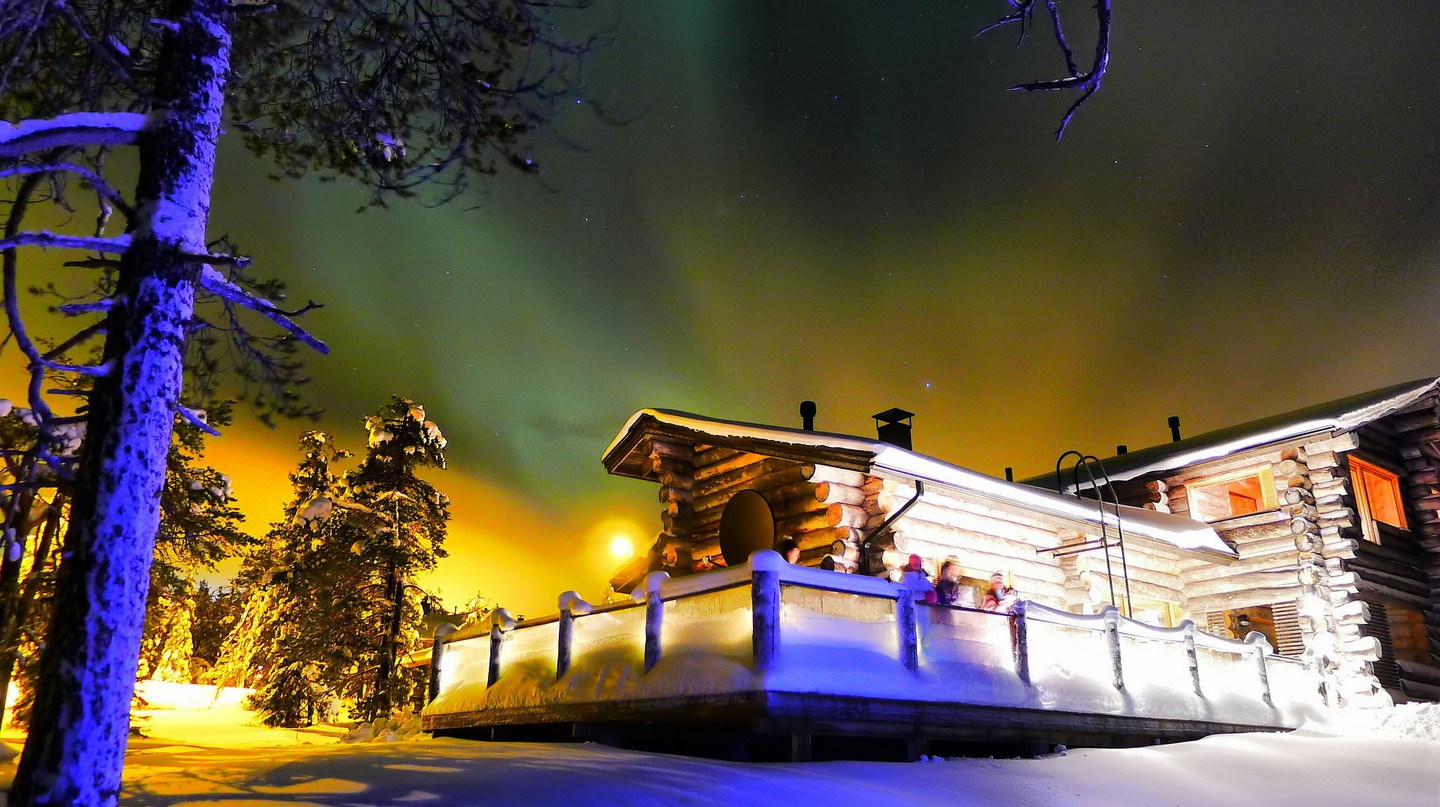 Northern Lights in Ruka, Lapland