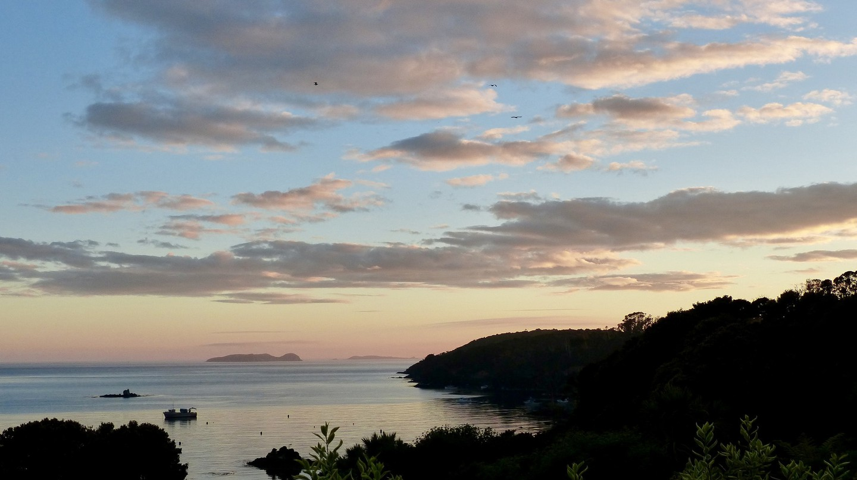 Stewart Island sunrise