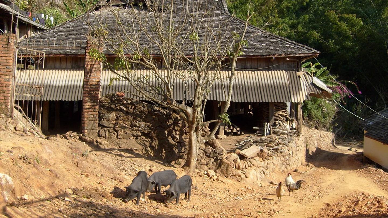 Zhanglang Bulang ethnic minority village
