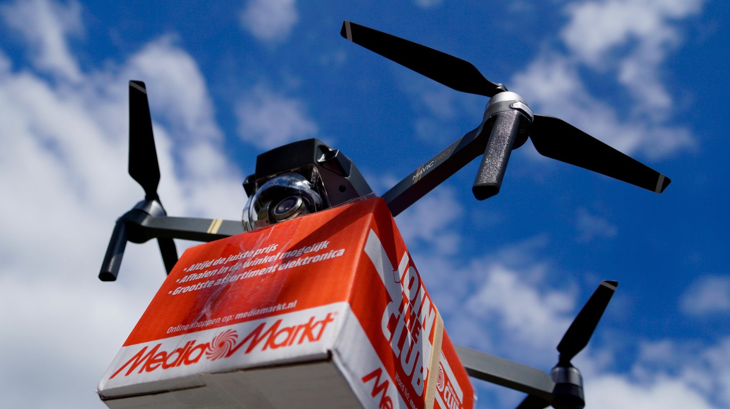 Drone delivery |