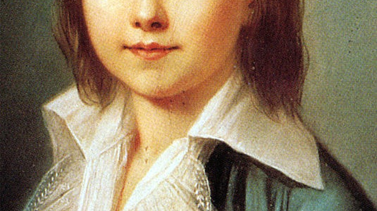 Young Louis-Charles of France