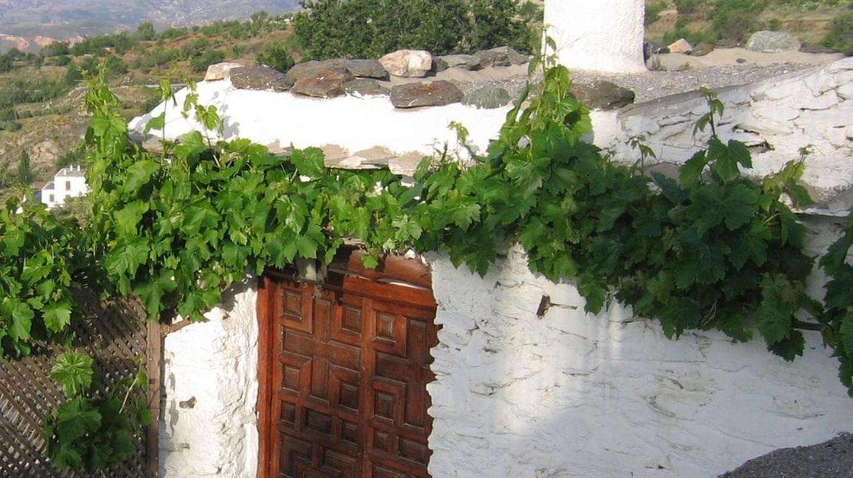 A beautiful doorway in Mairena, in Spain's Sierra Nevada