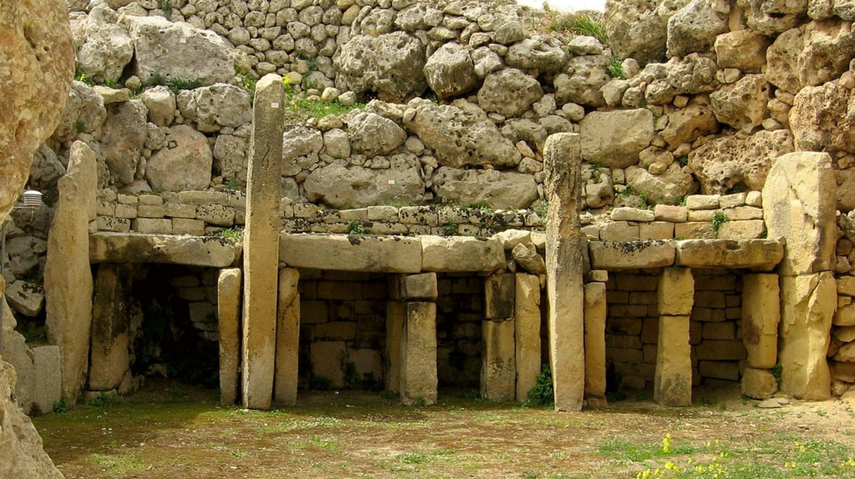 Altars at Ggantija Temples