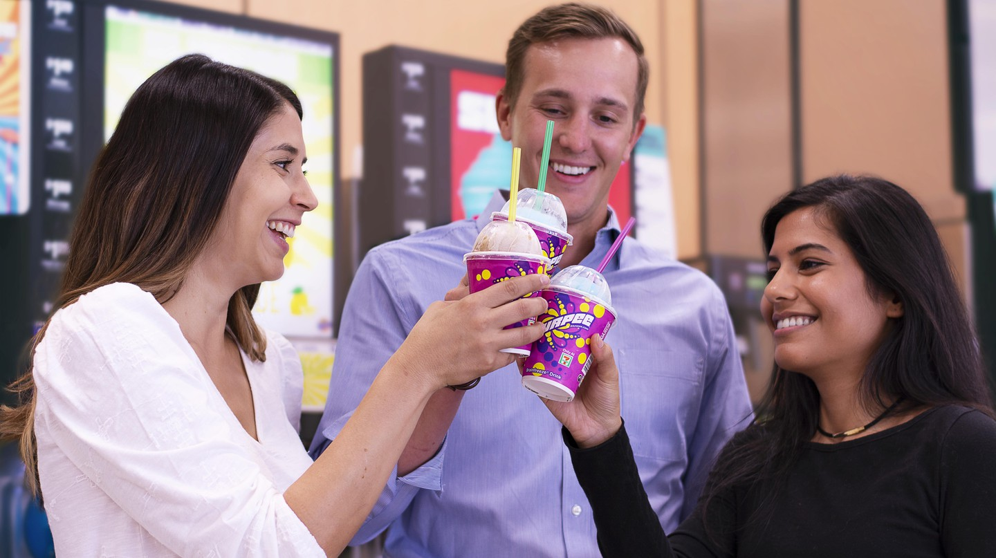 7-Eleven Day results in free Slurpees