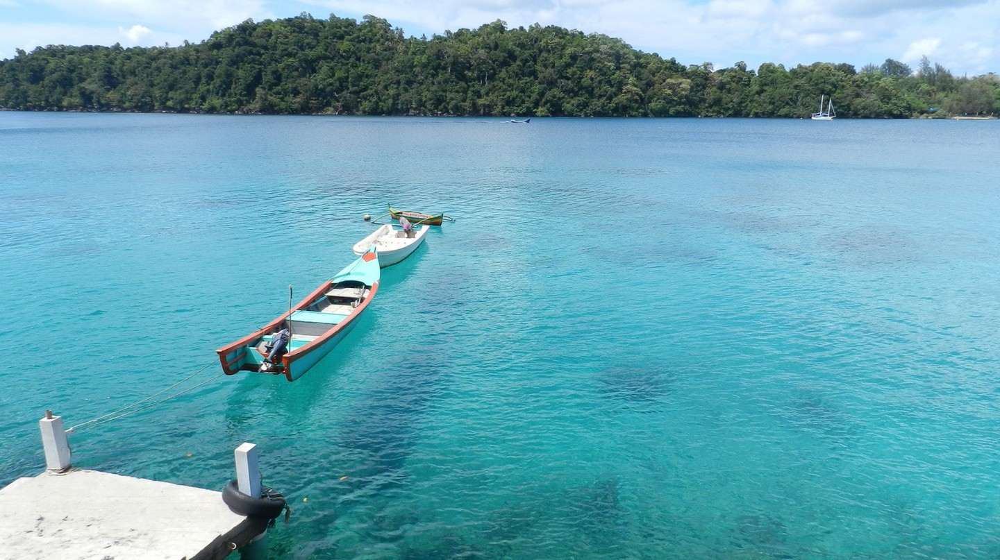 Weh Island in Sumatra, Indonesia