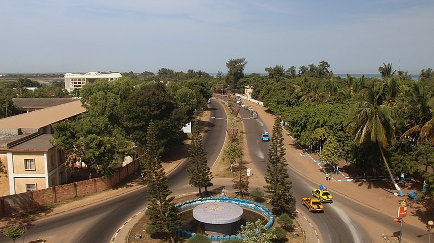 Navigating transport in Banjul, The Gambia