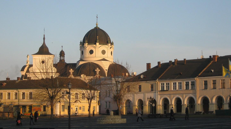 Heart of Christ church in Zhovkva