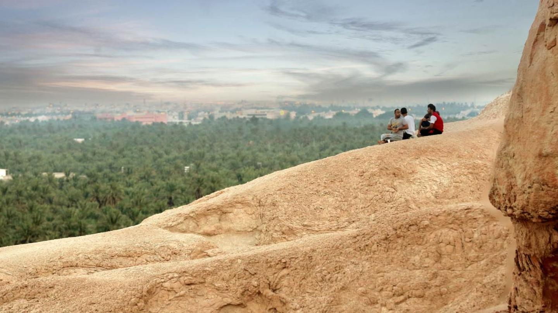 Hills overlooking Al-Ahsa