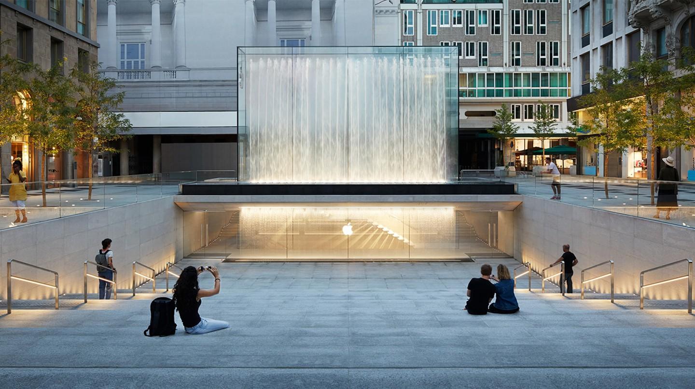 Apple's new Milan location
