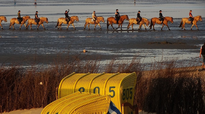 Cuxhaven beach