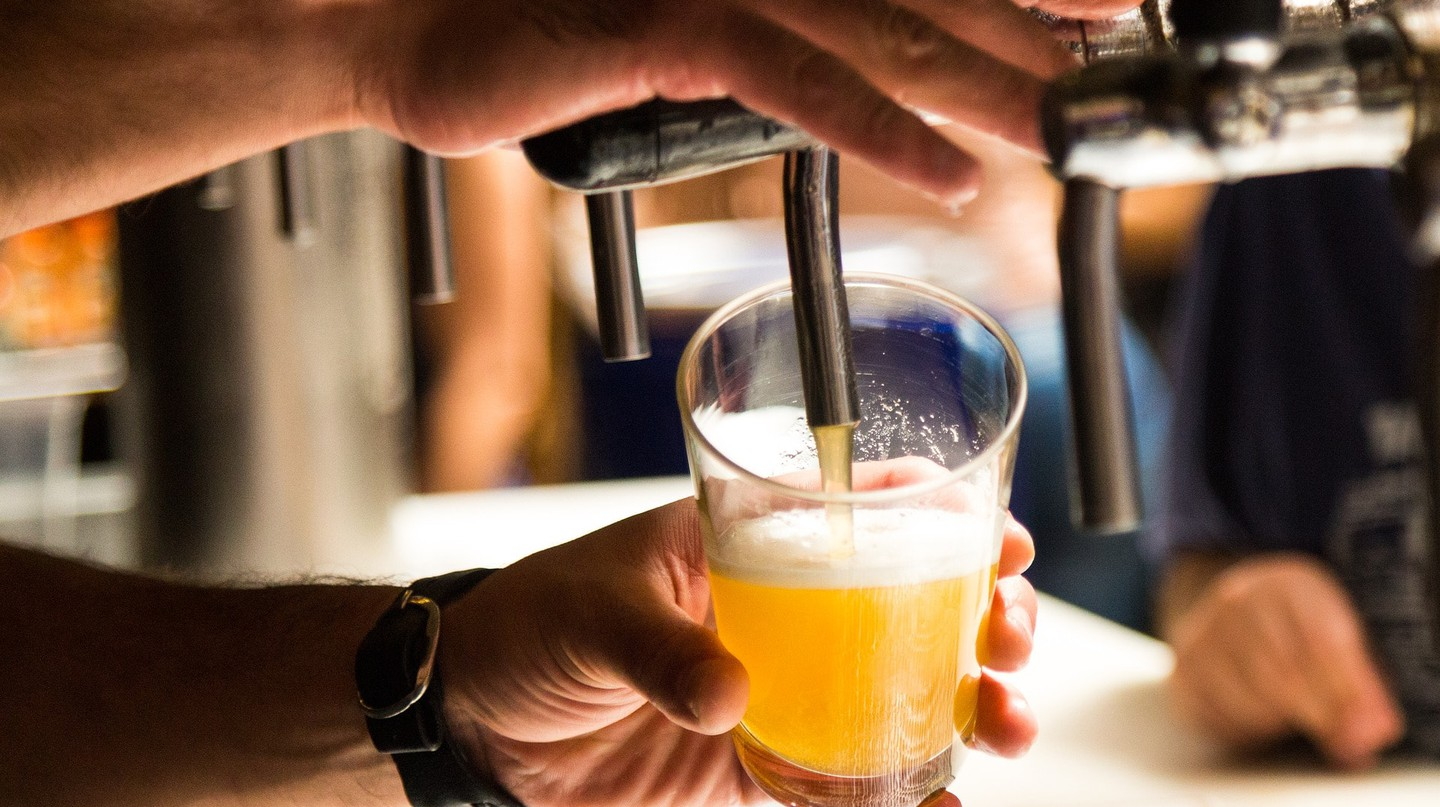 Grab a beer at Garage Bar in Phnom Penh