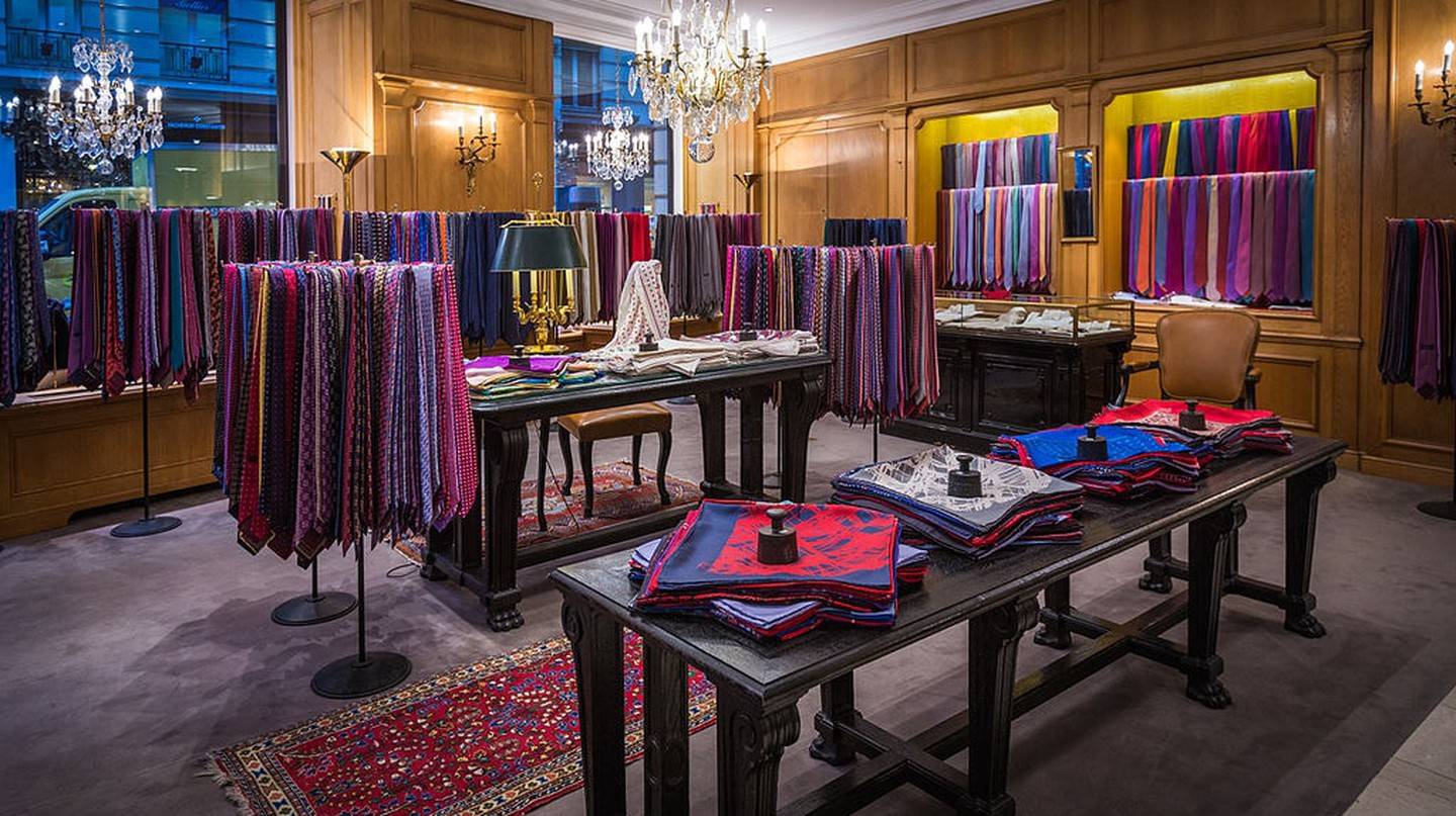 Charvet was the world's first shirt shop