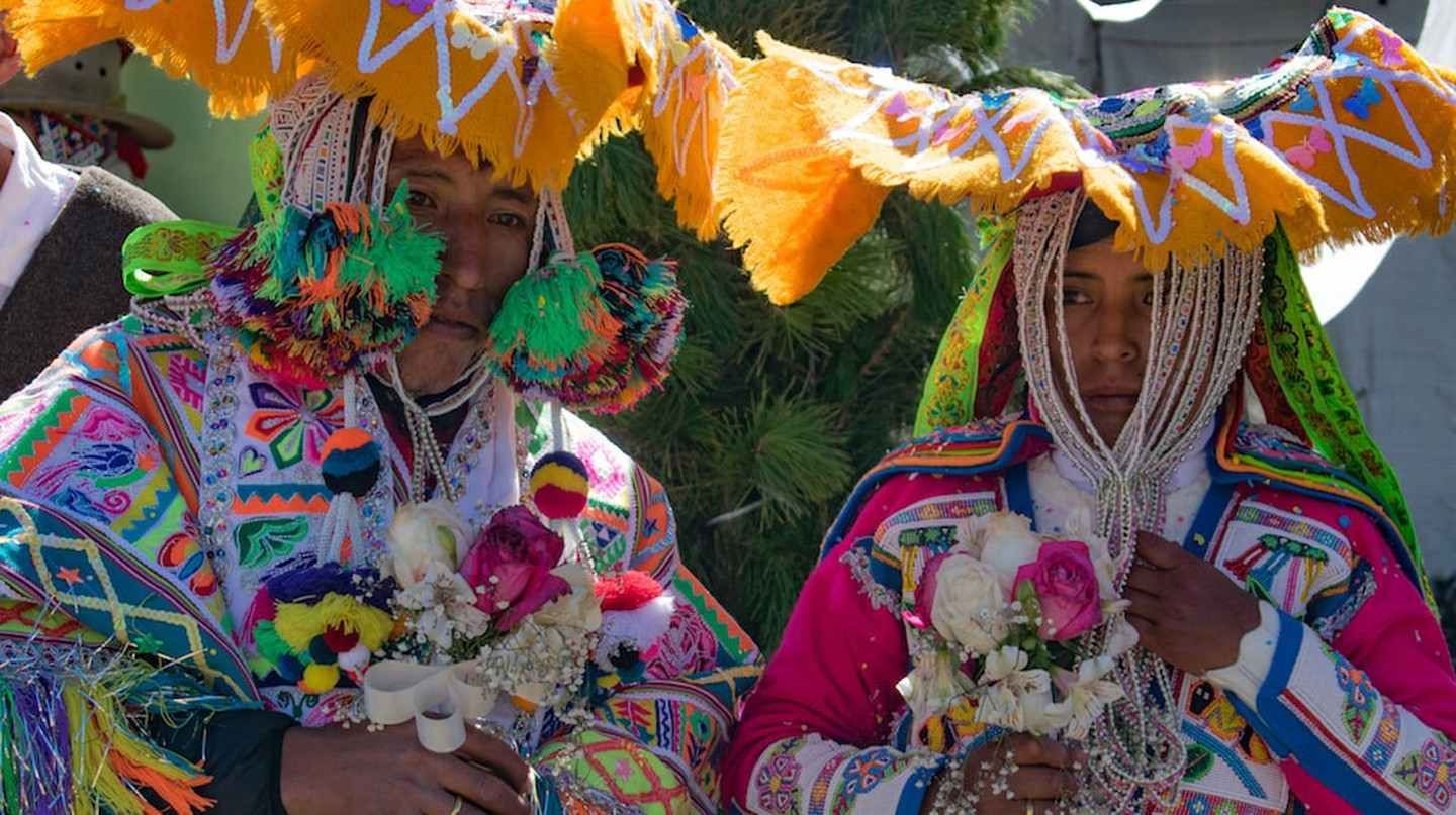 If given the opportunity, don't miss the chance to attend an Andean wedding