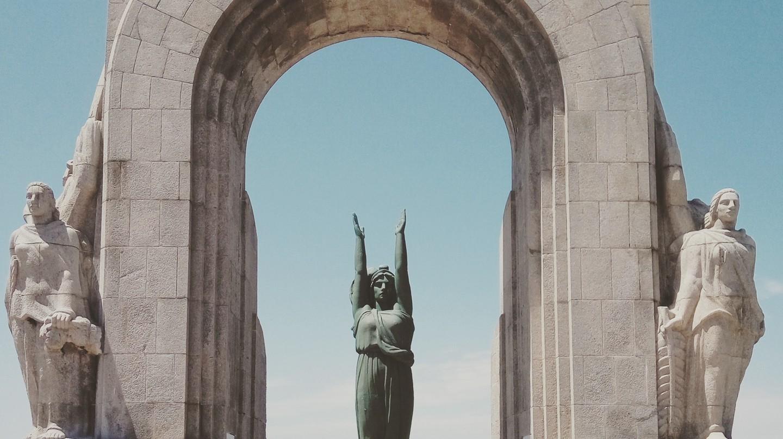 War memorial in Marseille, France