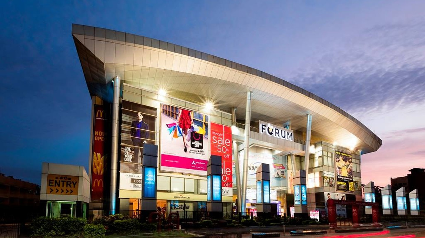The Forum Vijaya is home to one of only two IMAX screens in Chennai
