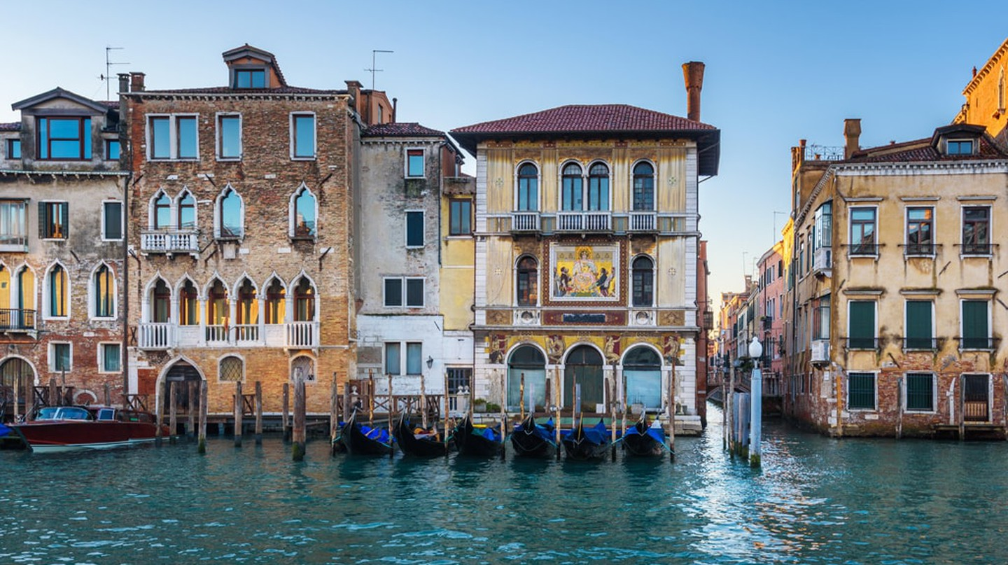 Water channels, Venice, Italy
