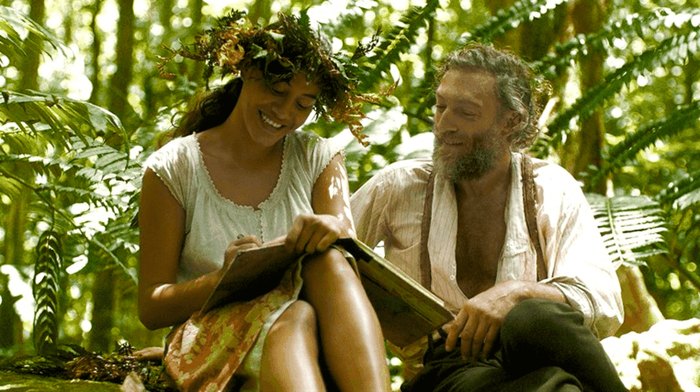 Tuheï Adams and Vincent Cassel in 'Gauguin: Voyage to Tahiti'