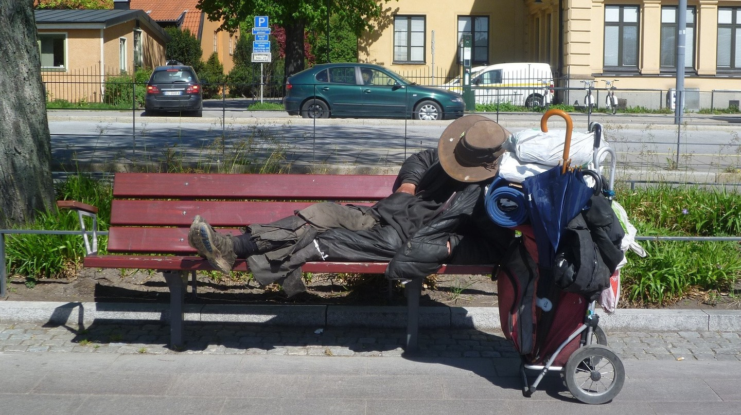 Rates of homelessness have greatly decreased in Finland.