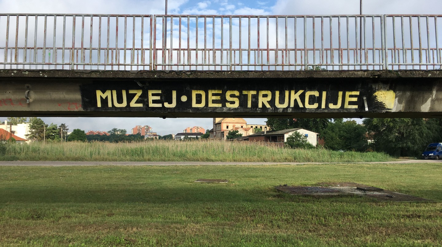 The Dry Bridge in Zrenjanin, although the Museum of Destruction is just as accurate