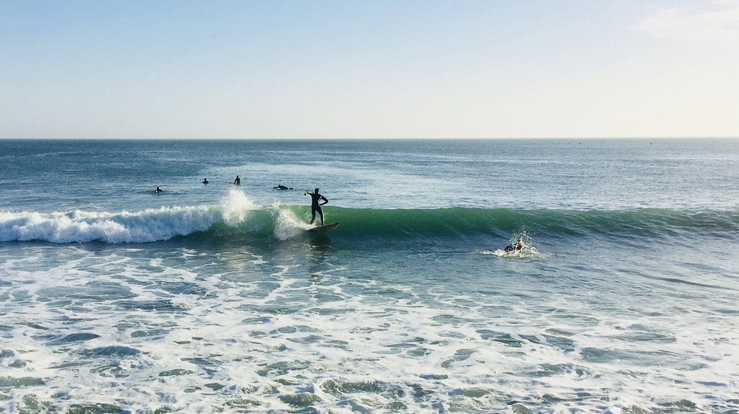 Surfers at Secret Spot