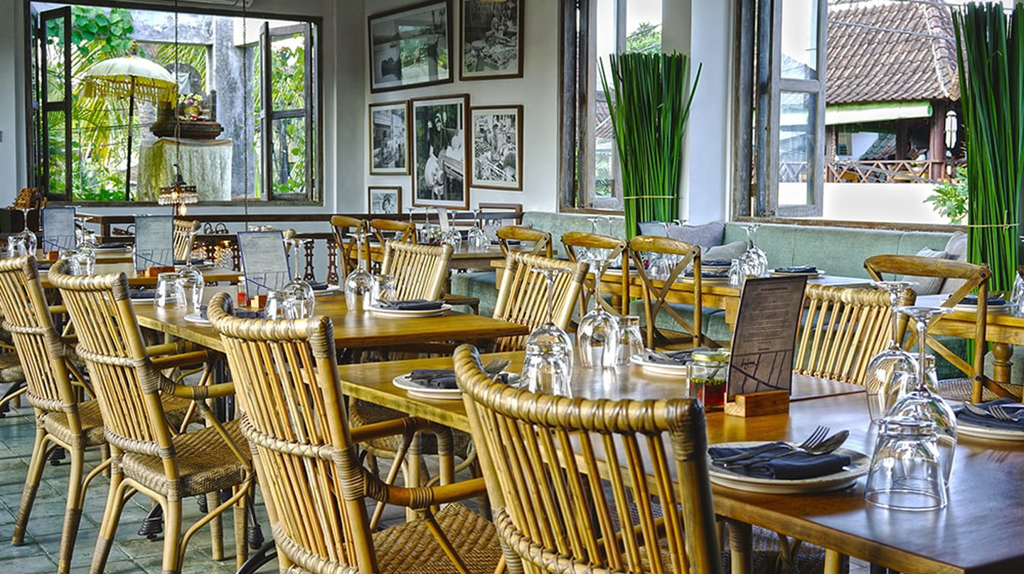 Hujan Locale is one of the best restaurants in Ubud, Bali