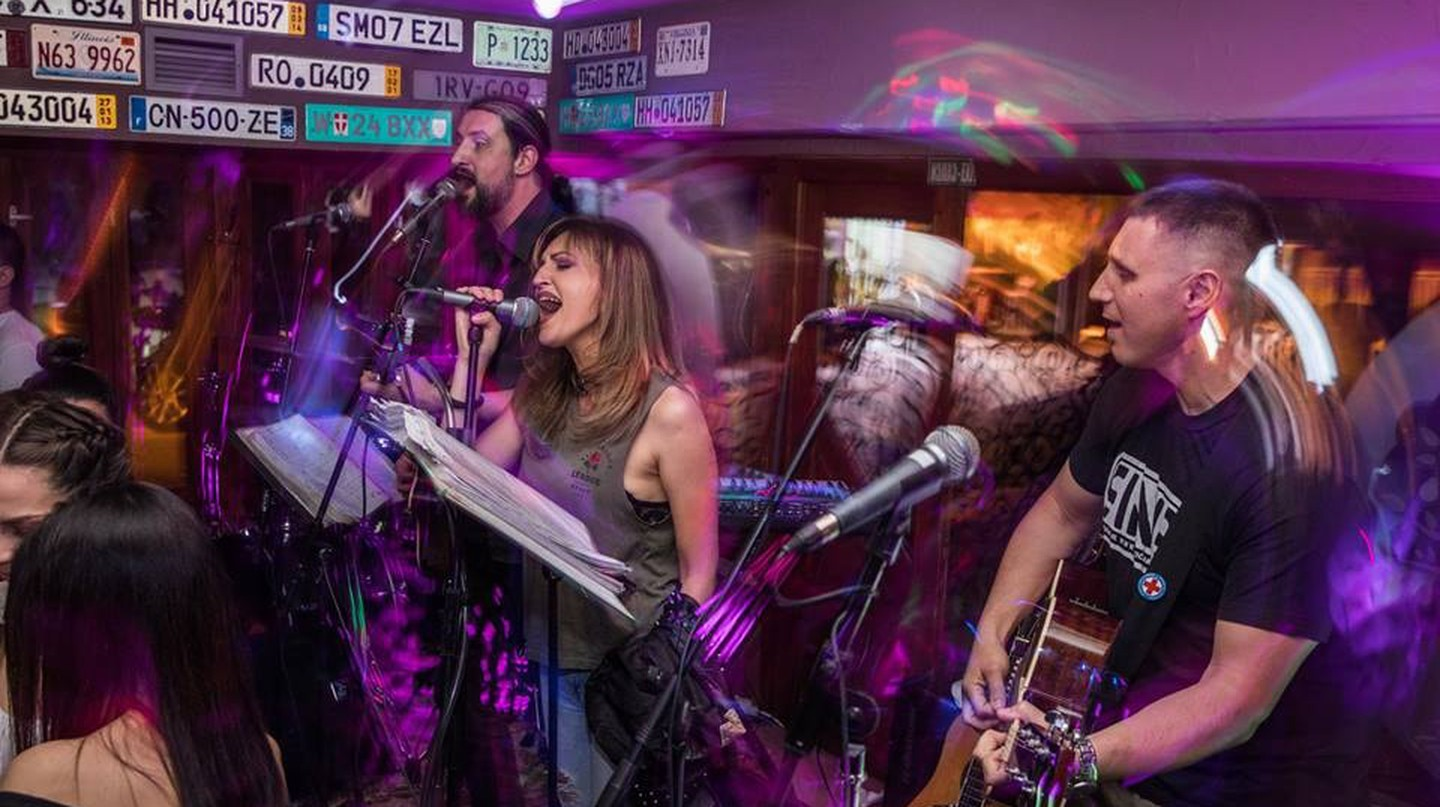 Live music is the name of the game at Kruška Pab