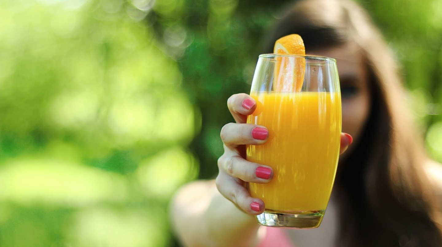 Juice is healthy and nourishing for the body.
