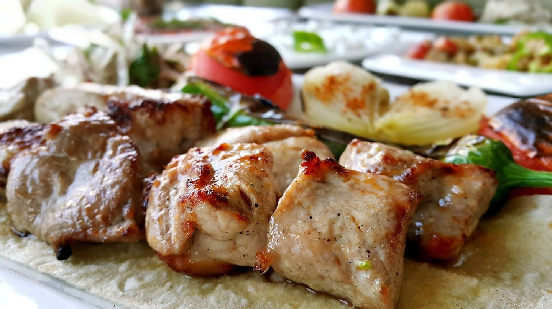 Delicious kebabs