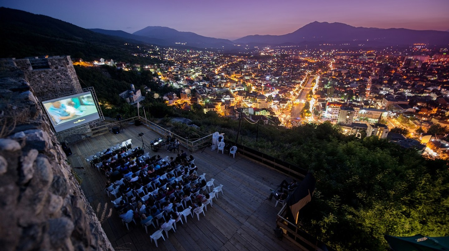 The old fortress of Prizren is home to the DokuFest, the main festival in Kosovo