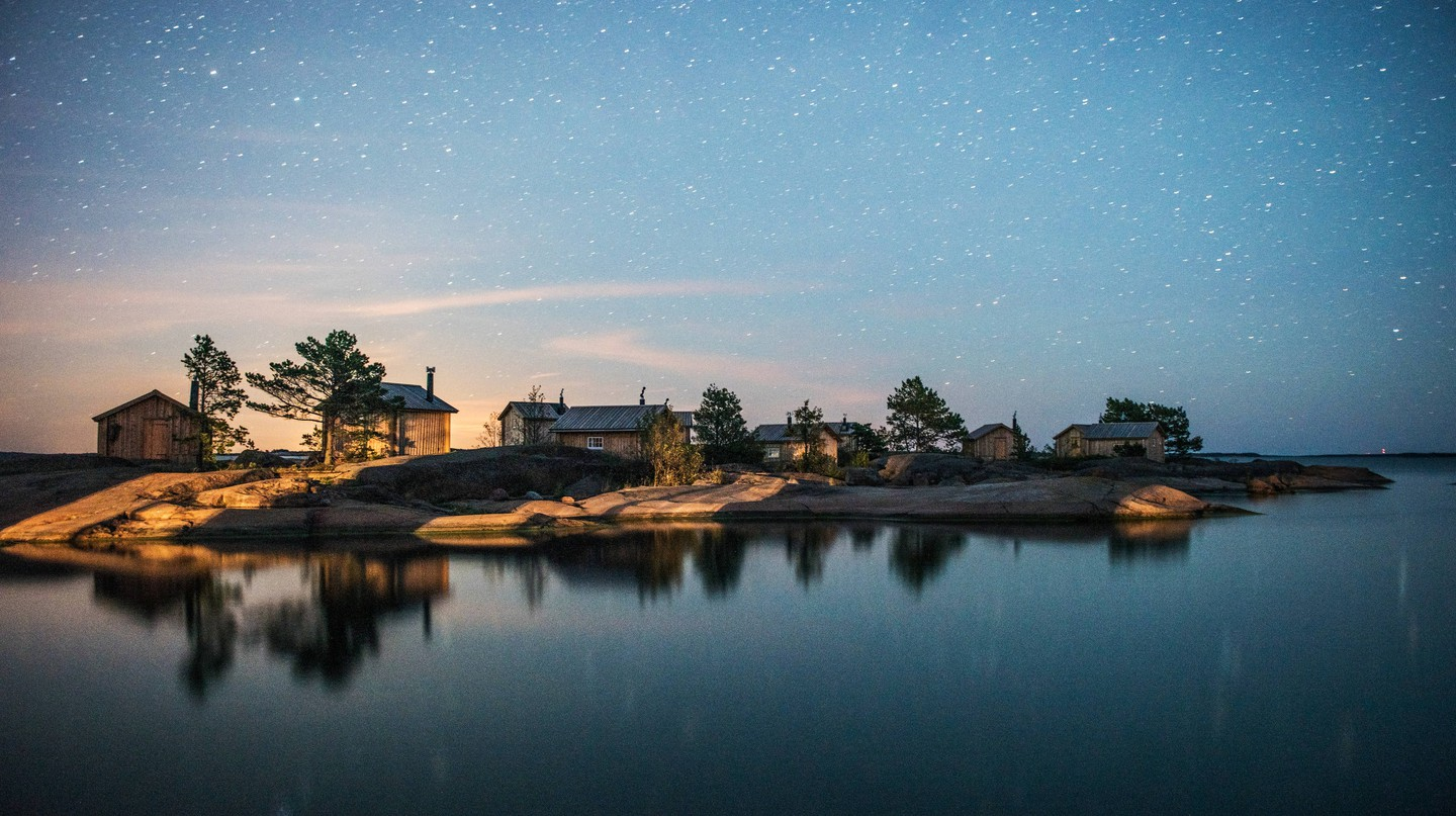 Visit the paradise islands of Åland.