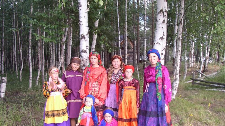 Komi people in traditional dress